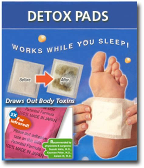 Detox Foot Pads Benefits by Cellular Cleanse Therapy