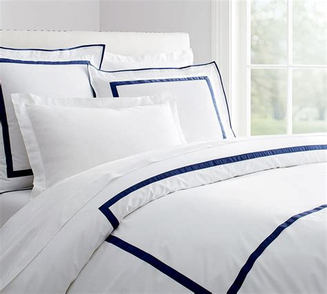 white comforter with blue trim black white paisley border joy studio design gallery