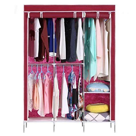 Fabric Garment Organizer best 25 portable clothes rack ideas on diy