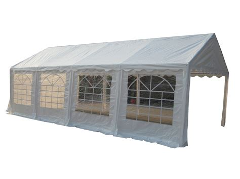 Marquee Awning by Foxhunter Outdoor Garden Pe Gazebo Marquee Canopy Awning
