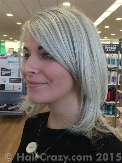 silver hair with pravana pravana vivids silver photos haircrazy com