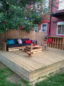 diy backyard deck 15 stunning low budget floating deck ideas for your home