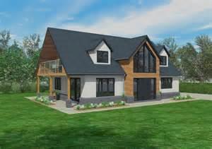 Dormer Bungalow Insulation New The Cranbrook Timber Framed Home Designs Scandia Hus
