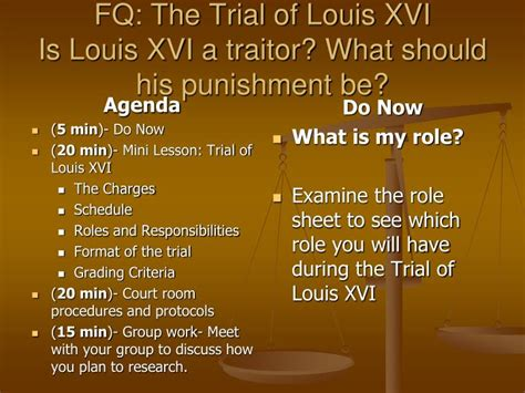 Should You The Traitor by Ppt Fq The Trial Of Louis Xvi Is Louis Xvi A Traitor