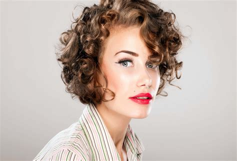 curly hairstyles on relaxed hair short curly hairstyles ideas with best images hd