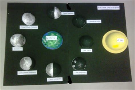 Maquetas De Lasfaces De La Luna | universo las fases de la luna observadas desde nuestro
