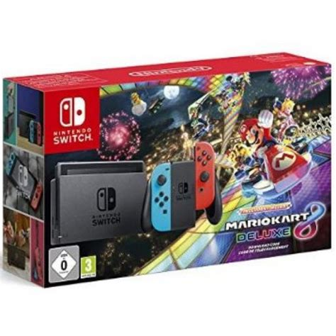 mario kart 8 console nintendo switch console with mario kart 8 deluxe switch