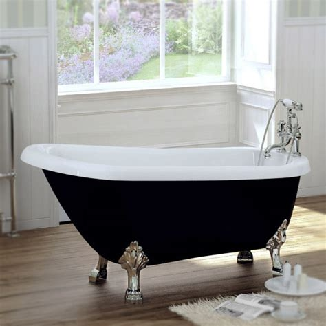 bathtub with feet black traditional 1680 x 720 luxury freestanding slipper bath with chrome lion feet at