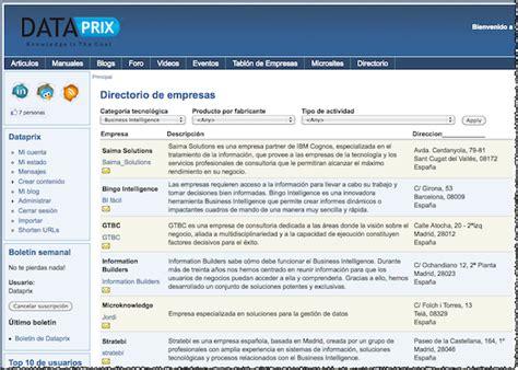 directorio de empresas directorio de empresas y blogs en dataprix comunidad