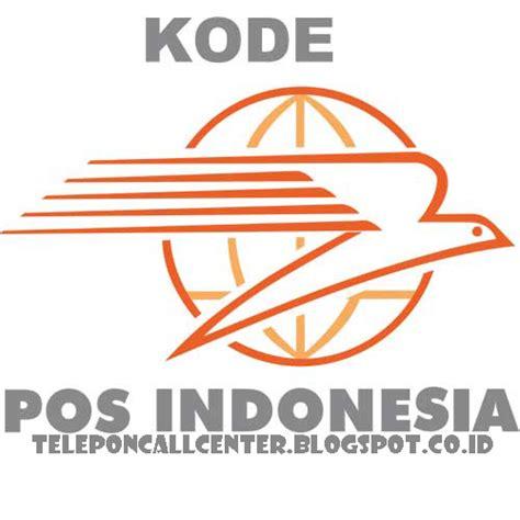 daftar kode pos provinsi bangka belitung indonesia