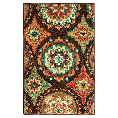 rugs big lots view shaw 174 living 23 quot x 35 quot brown suzani accent rug deals at big lots