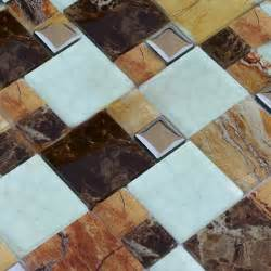 Tile Sheets For Kitchen Backsplash by Crackle Glass Stone Mosaic Tiles Cheap Bathroom Floors