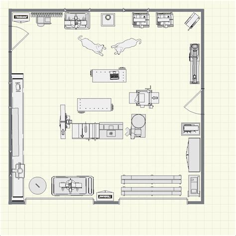 men floor plan the dreamcatcher man cave finewoodworking