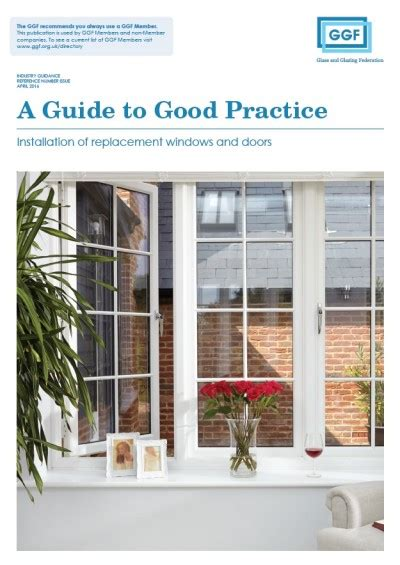 Window And Door Magazine by Ggf Launches New Window And Door Guide Glass Glazing