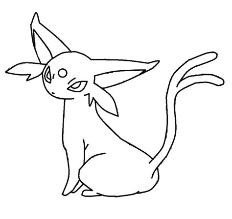 pokemon coloring pages of leafeon pokemon espeon coloring pages images pokemon images