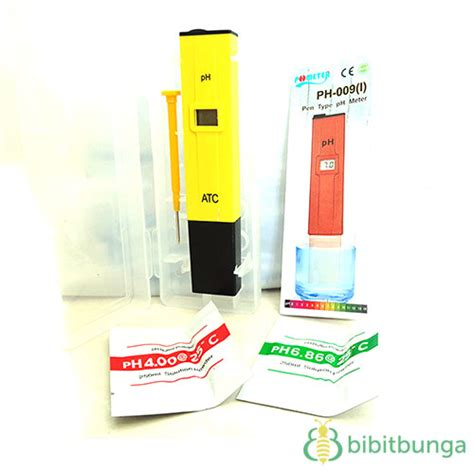 Ph Meter Air Digital Jual Ph Meter Air Hidroponik Digital Bibitbunga
