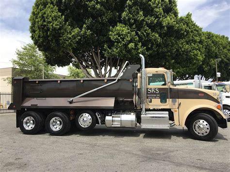 trucks for sale 2012 peterbilt 367 dump truck for sale 18 000 miles sun
