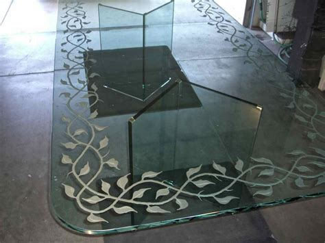 etched glass dining elegant vines glass dining sans soucie