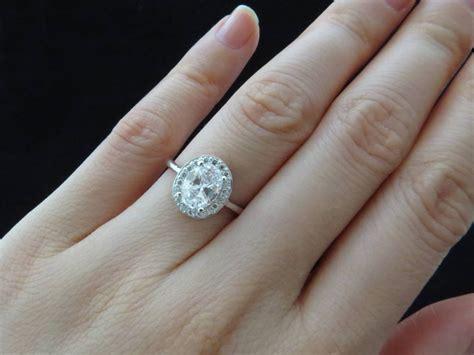 2 carat wedding ring 2018 popular 2 5 ct princess cut diamond engagement rings