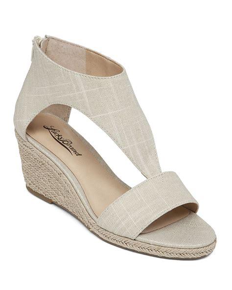 lucky brand espadrille t wedge sandals karlenie in