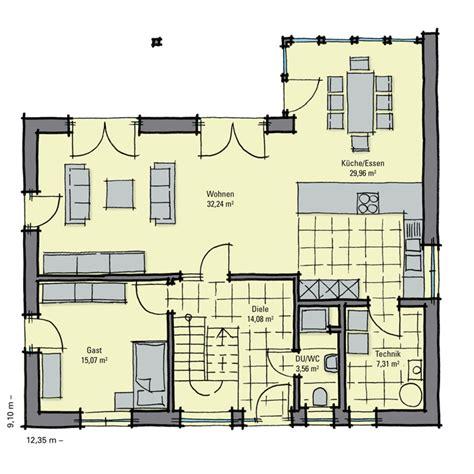 Grundriss Eg Einfamilienhaus by Einfamilienhaus Pappelallee Mit Wintergarten Und