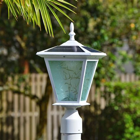Pillar Column Mount Solar Lights By Free Light Galaxy Solar Lights For Pillars