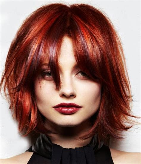 hairstyles for medium length hair red short red wispy hairstyles all red pinterest