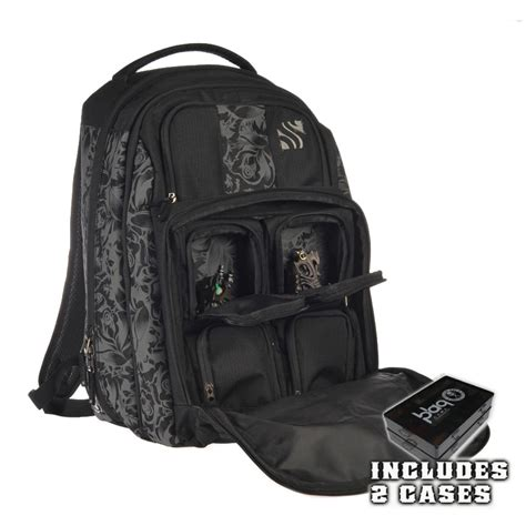 tattoo travel case sullen blaq paq onyx backpack