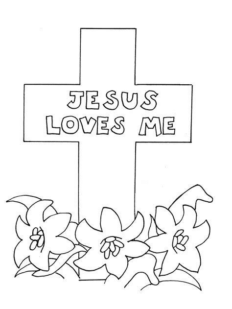 coloring page easter religious christian easter coloring pages coloring home
