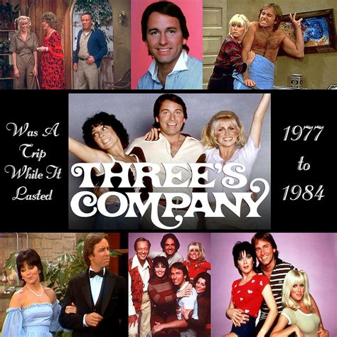 three s company three s company tribute mixed media by amanda struz