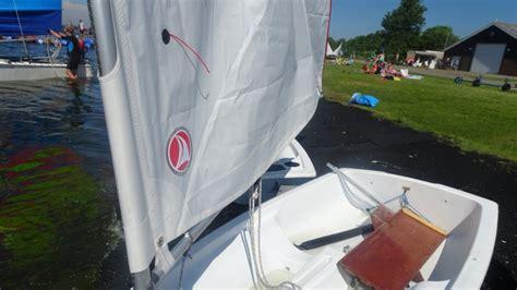 zeil wit ventoz optimist standaard zeil wit ventoz sails