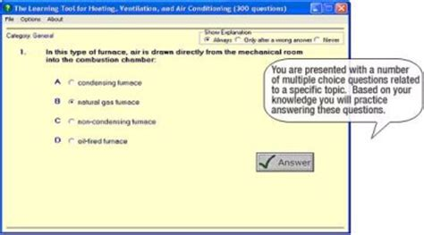 prep heating ventilating and air conditioning hvac practice test for the state