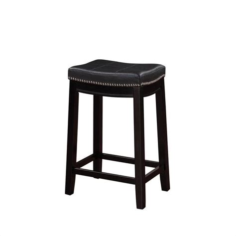 24 Bar Stool Black by 24 Quot Counter Stool In Black 55815blk01u