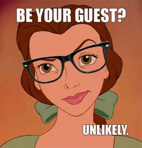 Hipster Glasses Meme - hipster disney princess meme belle dump a day