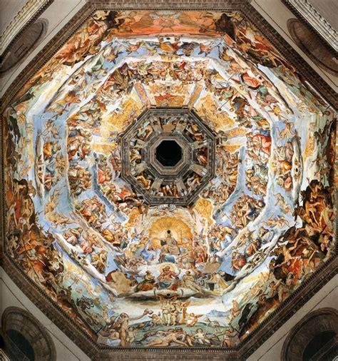 cupola duomo firenze the last judgment by vasari giorgio