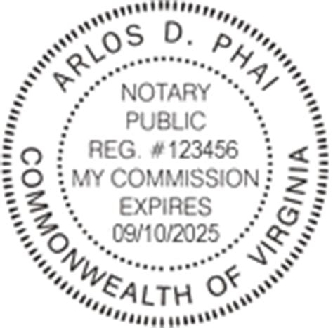 virginia notary seal stamps and notary supplies 800 523 2344
