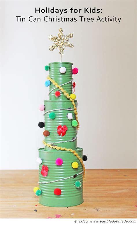 ideas de como hacer arbol navide241o con latas recicladas c 243 mo hacer un mini 225 rbol de navidad con latas de conservas