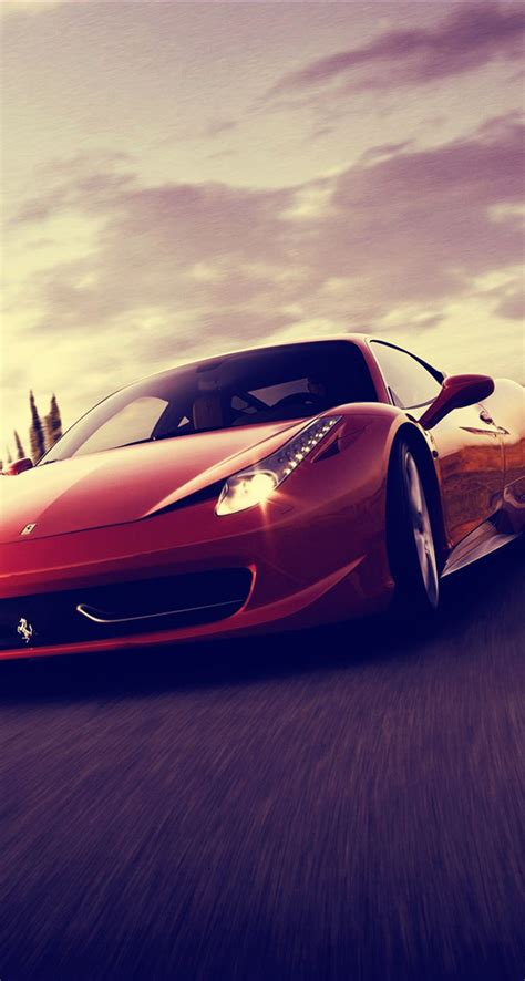 ferrari  spider sports car  iphone wallpapers