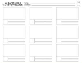 Template Word by Storyboard Template Word Cyberuse