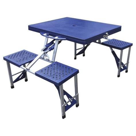 picnic table and chairs buy tesco folding cing picnic table chairs from our