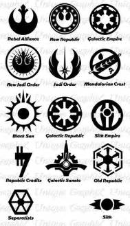 Star wars symbols force pinterest