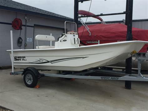 skiff boat console center console carolina skiff 17 dlx boats for sale