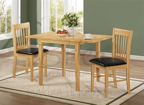 Drop Leaf Dining Table Sets Birlea Oxford Oak Finished Drop Leaf Dining Table Set With Two Chairs By Birlea