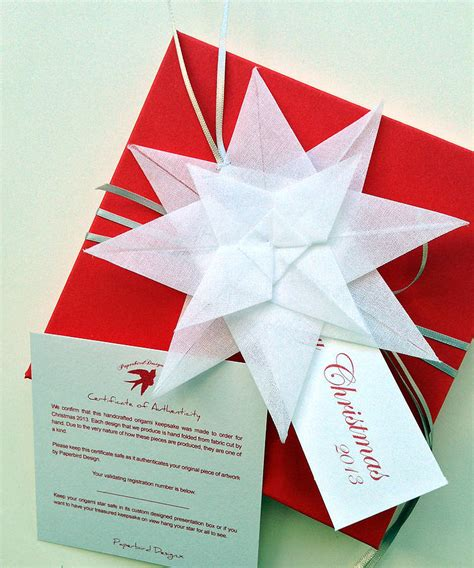 Origami Delivery - origami keepsake by paperbird design
