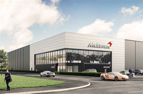 mclaren facility mclaren announces new 163 50m chassis facility in south