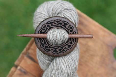 Handmade Shawl Pins - black walnut shawl pin handmade wooden shawl pin in