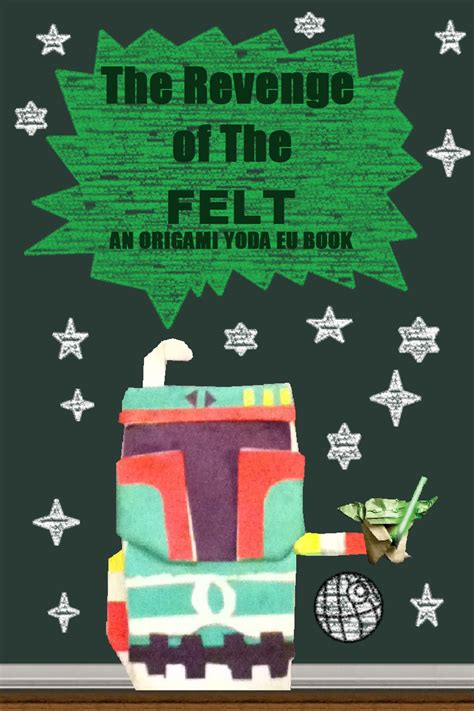 New Origami Yoda Book - episode 3 of the felt origami yoda the