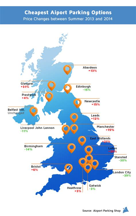 map uk airports we d like to agree airport parking prices only go up but