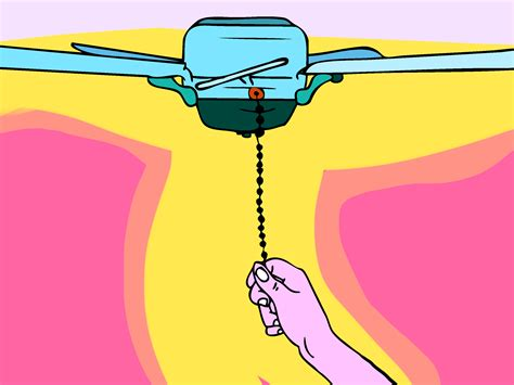 how to replace pull chain on ceiling fan 3 ways to replace a ceiling fan pull chain switch wikihow