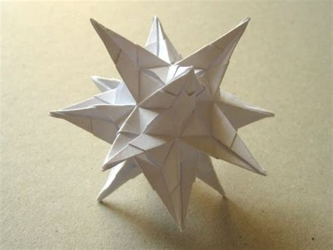How To Make An Origami Spiky - origami quot spiky quot by david brill part 2 of 2